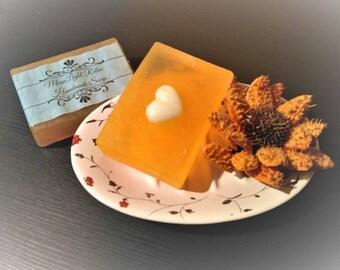 MoonLight Relax Handmade Soap with Orange Flavor