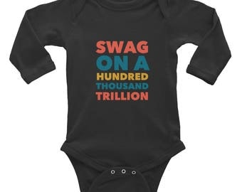 Swag Infant Long Sleeve Bodysuit