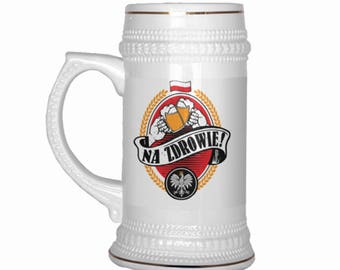 Na Zdrowie Beer Stein