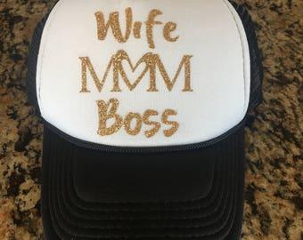 Custom Mom Trucker Hats