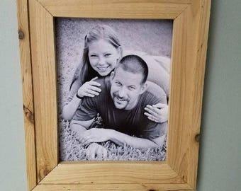 11 x 14 Cedar wood picture frame