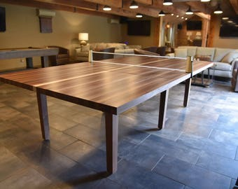Custom Table Tennis-Conference Table-Game Room Furniture-Winston Shuffleboards-Coworker gifts-Pool Tables-Man Cave-Office Decor
