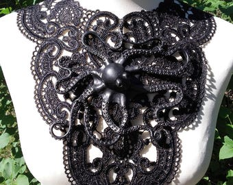 Necklace Lace Octopus Octopus