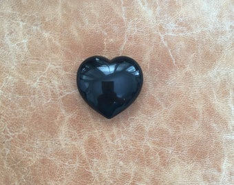 Onyx heart shaped stone