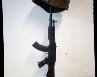 Modern Gun Lamp Design AK47 M16 Pistol Light
