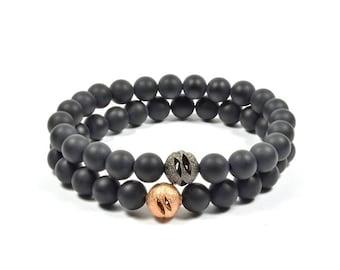 Onyx 2 Pack Bracelet Set