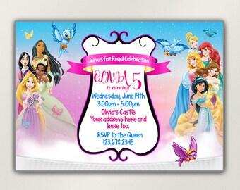 Disney invite Etsy