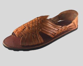 Men's Mexican Sandals - Pachuco Style - Authentic Leather Huaraches
