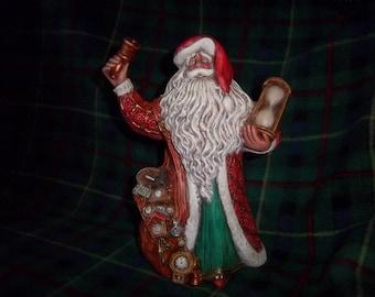 Hand Painted Ceramic Santa #6