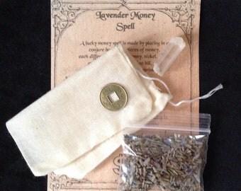 Lavender Money Spell