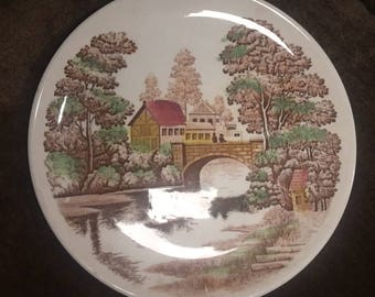 """Vintage Nasxo  """"HOLIDAY"""" Lunch/Dinner Plate (1)"""