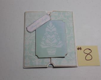 Gatefold Christmas Card #8 (with tree)