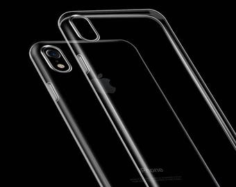 Ultra thin TPU Gel case for iPhone X (Overstocked)