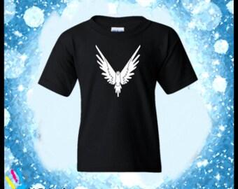Logang Logan Paul Kids Tshirt-Maverick White Logo- Kids Shirt. Custom Shirts.