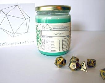 Ranger Jar Candle