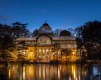 Crystal Palace (Lights and Twilight)