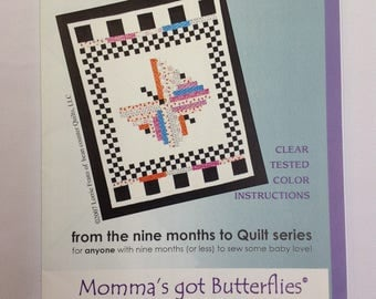 Bean Counter Quilts- Momma's got Butterflies Quilt Pattern