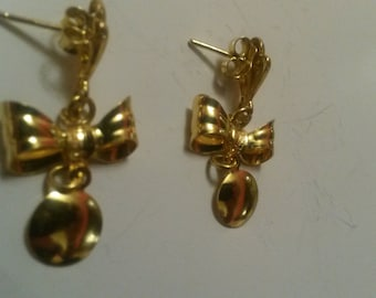 Earrings in 750ER yellow gold (18 carats)
