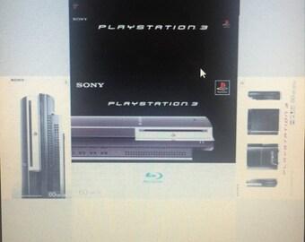 Caja / Box / Cover / Boite Sony PlayStation 3, ps3