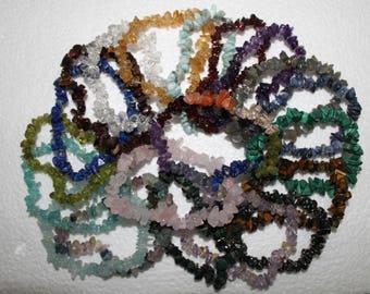 Crystal Chip Bracelets