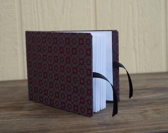 Textured Maroon Sketchbook