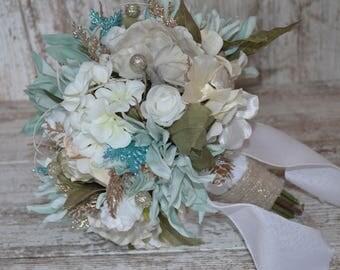 Winter Theme Bridal Bouquet