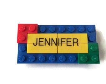 Birthday LEGO Name tag