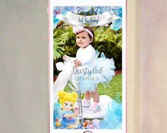 Cinderella snapchat geofilter, cinderella 1st birthday