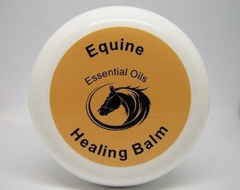 "Equine / Horse Essential Oils for Aromatherapy, Wellness & Health, Organic Holistic Care, All Natural Products ""Healing Balm"", Topical"