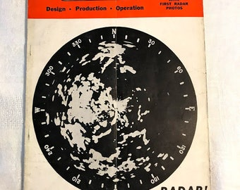 Rare 1945 Radio magazine with historic early radar photos