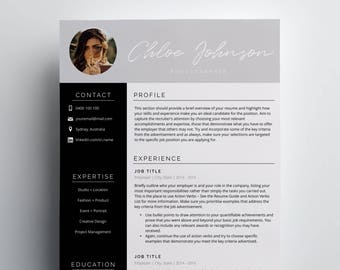 Resume Template | Word Resume Template | Pages Resume Template | 3 Page  Resume | CV  Pages Resume Template