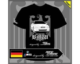 T-shirt BMW M5 (E39)