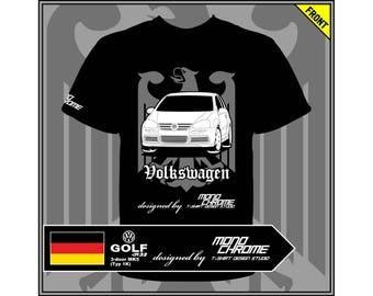 T-shirt Volkswagen Golf R32 3-door MK5 (Typ 1K)