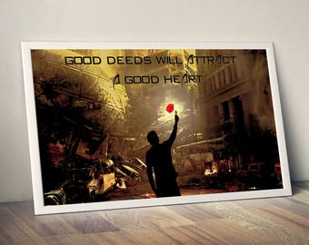 Good Heart, good, heart, good art, heart poster, heart art, good print, poster, art, print, heart print, good heart print, poster print
