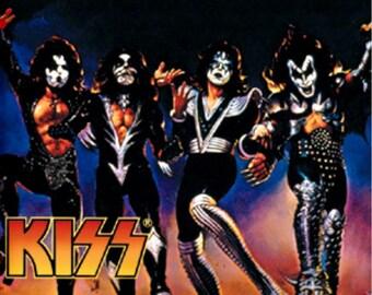 "KISS: ""Destroyer"" Album Cover Sticker"