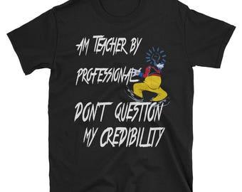 T-shirt for teachers