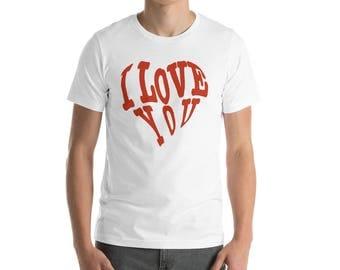 Valentines Day Gift Short-Sleeve Unisex T-Shirt