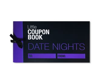 Date Night Love Coupons for Him Her Date Ideas Valentine Token Couples Valentine's