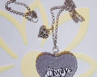 Resin always (Harry Potter) necklace