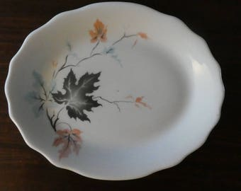 Jackson China Fall Leaves Restaurant Ware platter