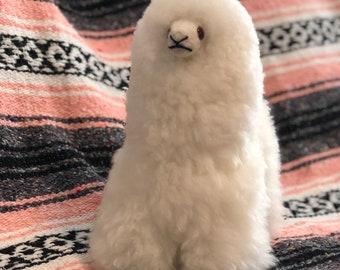 Baby Alpaca Fur Llama