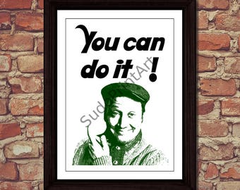 You can do it by Rob Schneider