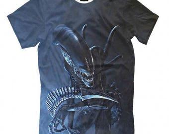 Alien Movie Xenomorph T-shirt, Men's Women's All Sizes