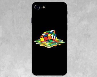 Rubik's Cube / Case for  IPhone X, 8/8 Plus, 7/7 Plus, SE, 6s/6, 5/5S/5C, 4/4S