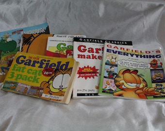 Vintage Garfield Books