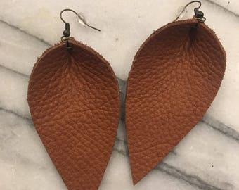 Large Sleek Earrings