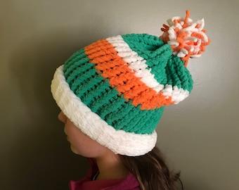Warm St. Patrick's Day Knit Hats