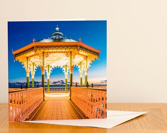 Brighton Bandstand - Greeting Card