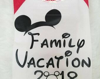 Family Vacation Shirts- Disney