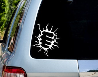 Hulk Decal - Yeti Decal - Cup Decal - Marvel Decal - Car Decal - Super Hero Decal